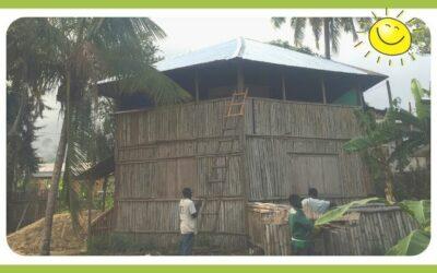 Neues Dach für unsere Schule